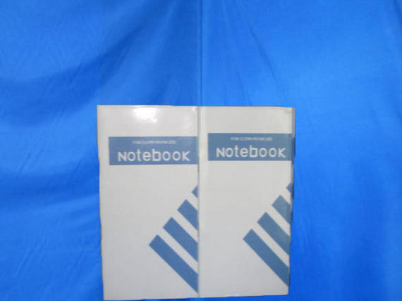 "Cleanroom Notebook 3"" x 6"" (Staples)"