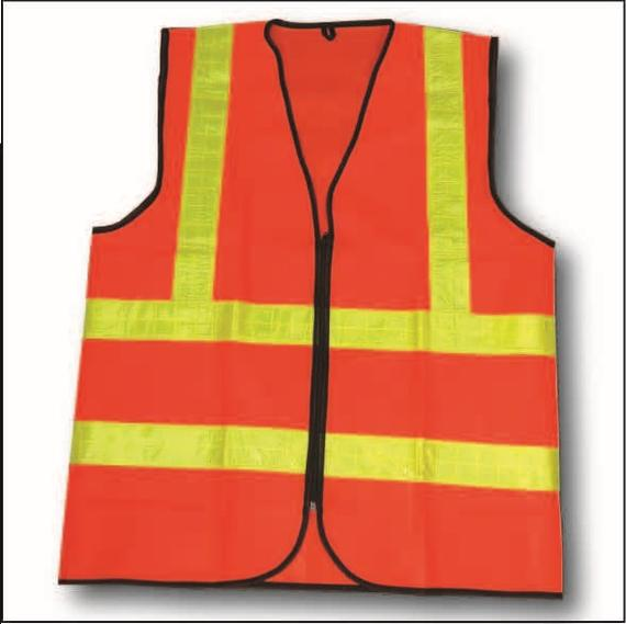 SAFETY VESTS (ZIP TYPE)