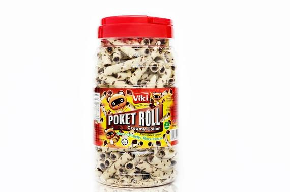 Poket Roll 450g - Chocolate