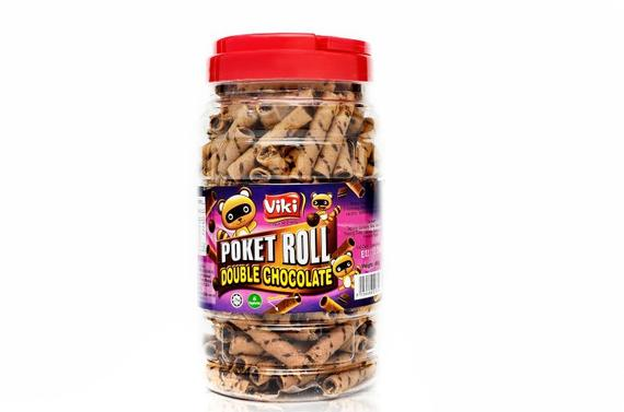 Poket Roll 450g - Double Chocolate