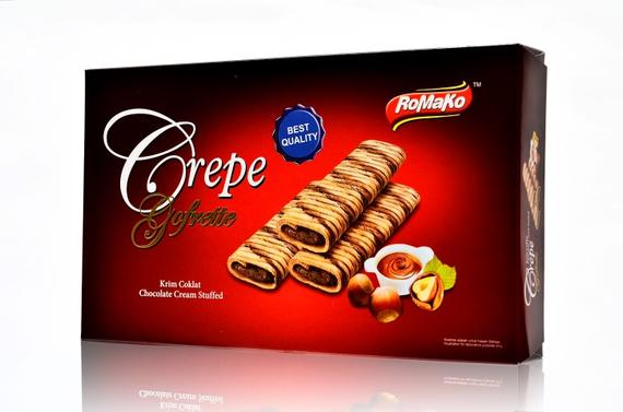 Crepe Gofrette 125g - Chocolate