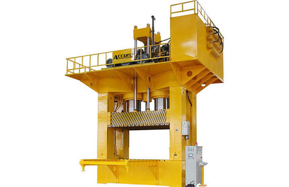 H-Frame Hydraulic Press (SMC Molding)