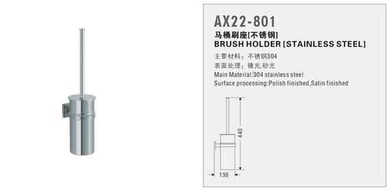 Brush Holder (Stainless Steel) AX22-801