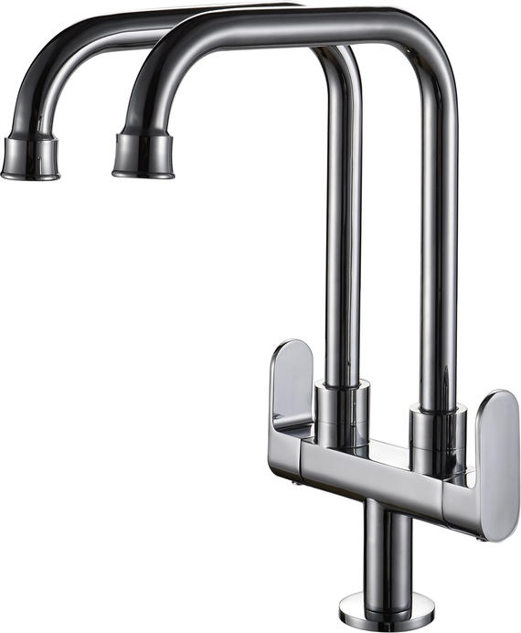 Double Pillar Cold Sink Tap