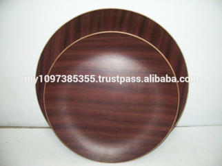 Assorted Size Round Wooden Food Tray