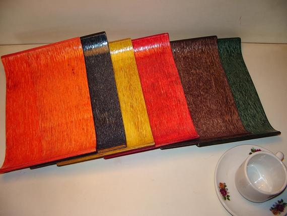 Assorted Color Of U Tray