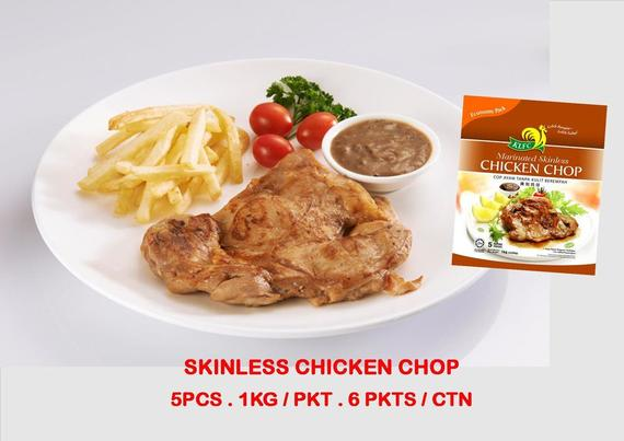 SKINLESS CHICKEN CHOP