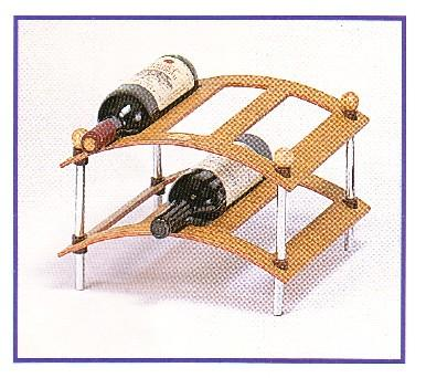 2 Layear Wine Rack