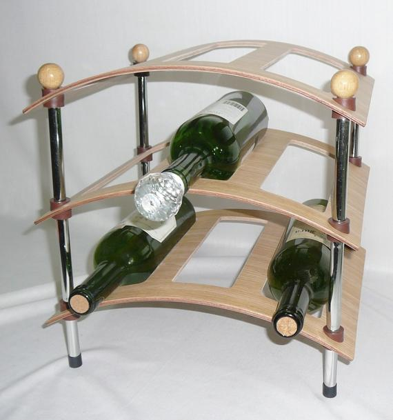 3 Layer Wine Rack