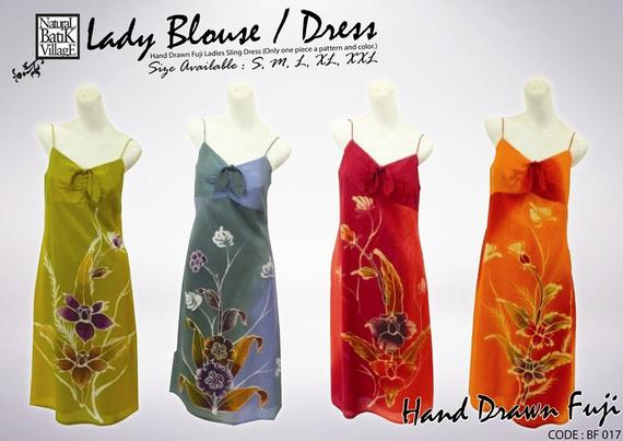 Batik Lady Blouse / Dress