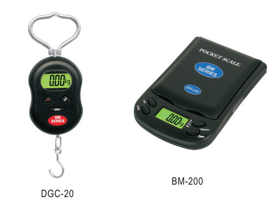 DGC / BM-200 series_Hanging Scale & Pocket Scale