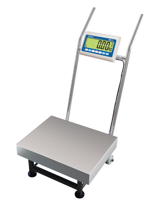 KB-11 (FS) series_Fully Stainless Steel Trolley Type Platform Scale