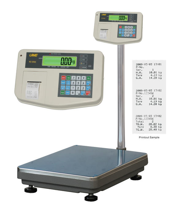 W22 series_Receipt Built-in Printer Platform Scale