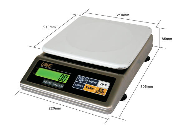 MS series_Stainless Steel Portion Scale