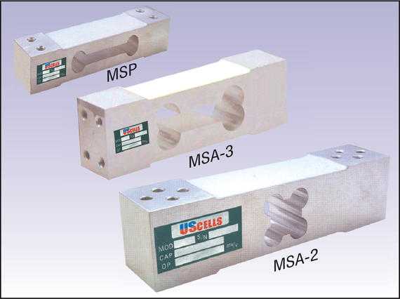 MSP/MSA 2/MSA 3_Aluminium Single-Point Load Cells