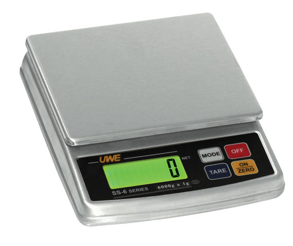SS-6 series_Stainless Steel Portion Scale