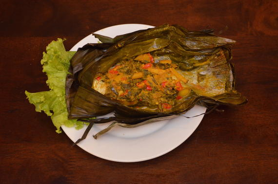 Ikan Patin Pepes