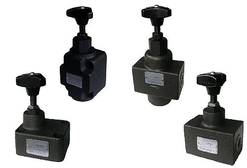 SRT. SRCT. SRG. SRCG. Throttle valves