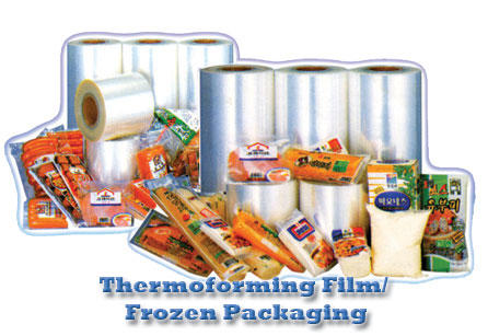 Thermoforming Film Frozen Packaging
