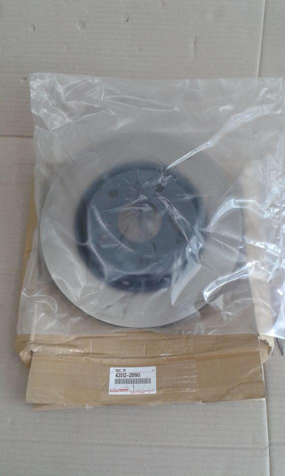 Toyota Genuine Front Disc 43512-28190