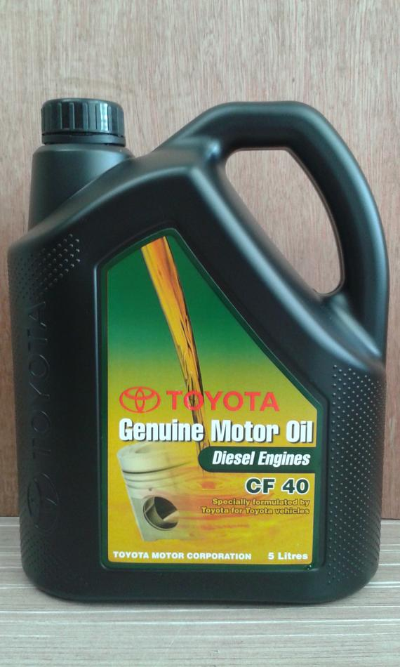 TOYOTA GENUINE CF40 DIESEL ENGINE OIL