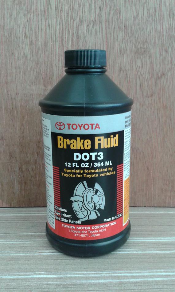 TOYOTA GENUINE DOT 3 BRAKE OIL 08823-0354L