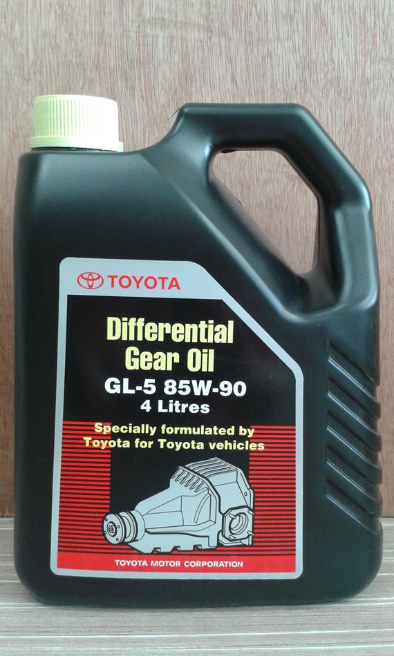 TOYOTA GENUINE GL5 85W90 GEAR OIL