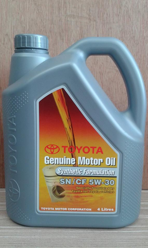 TOYOTA GENUINE SEMI 5W30 ENGINE OIL