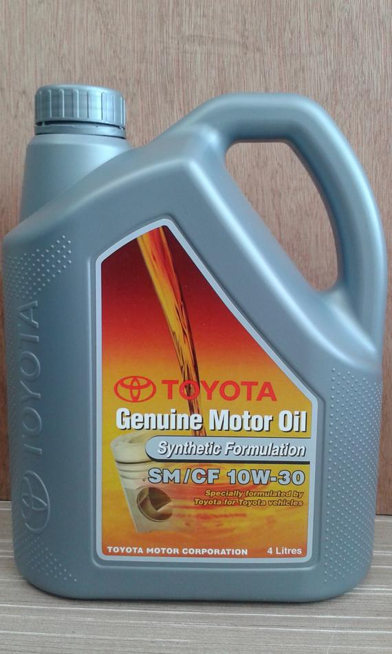 TOYOTA GENUINE SEMI 10W30 ENGINE OIL