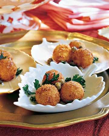 Cheesy Rice Balls Recipe (Arancini)  芝士饭球