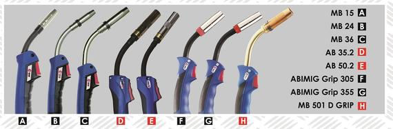 Full Range of MIG Torch