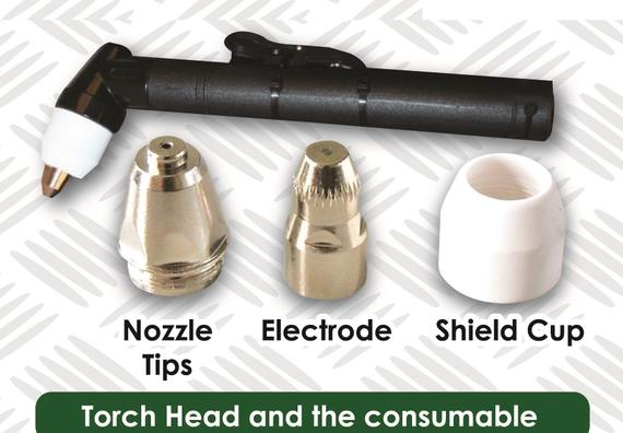 Torch Head and the consumable