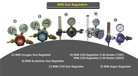 WIM Gas Regulators