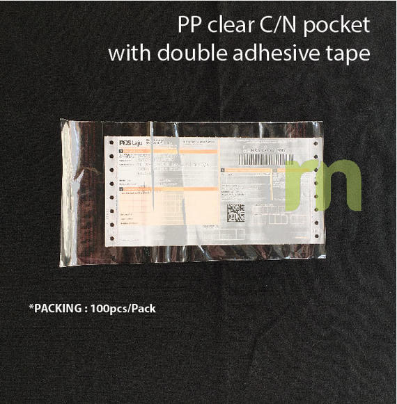 CN pocket ( Pocket for Consignment note)