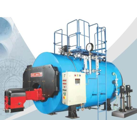 Packaged Fire Tubed Oil/Gas Steam Boiler