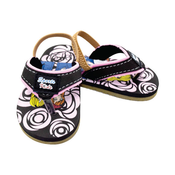 AEROKID - BABY SANDALS  (BB 049-BK) BLACK