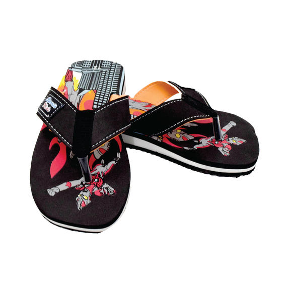 AEROKID - TODDLER SANDALS  (KS S273-BK) BLACK