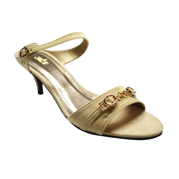 SALSA - LADIES LOW HEELS (17-995) BEIGE