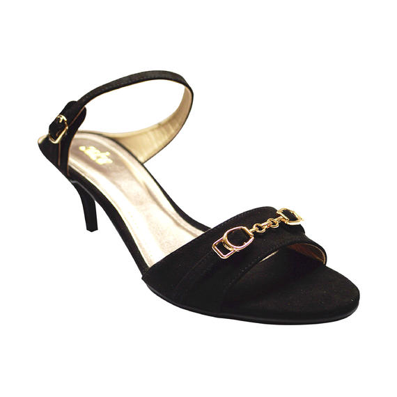 SALSA - LADIES LOW HEELS (17-995) BLACK