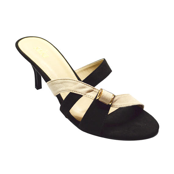 SALSA - LADIES LOW HEELS (17-996) BLACK