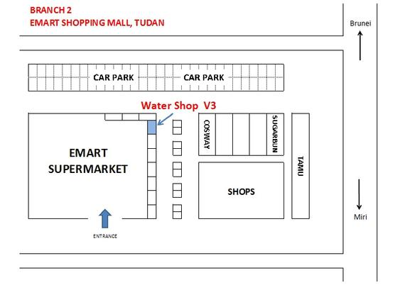 Branch 2 - Emart Shopping Mall, Tudan