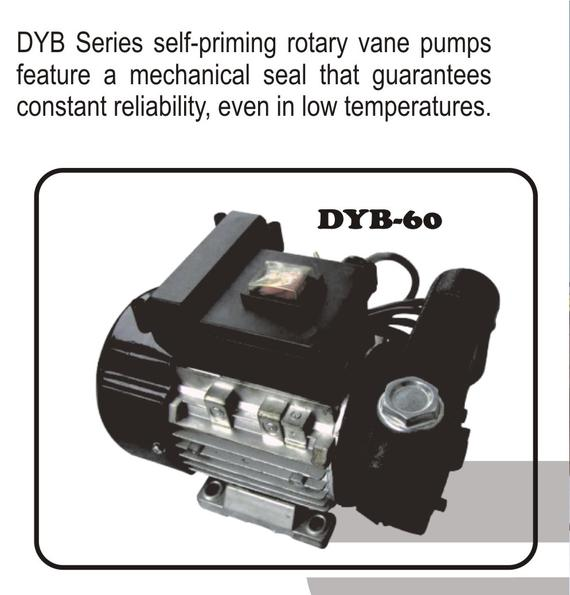 Electric Vane Transfer Pump