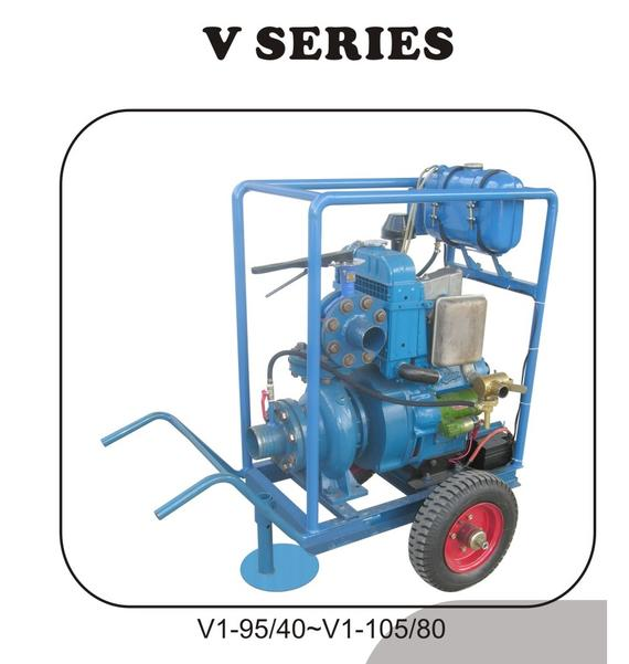 Vertical Diesel Engine Water Pump Set
