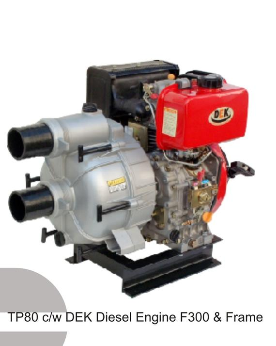 Self Priming Centrifugal Trash Pump