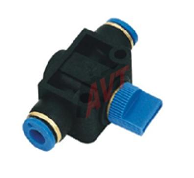 HVFF SERIES UNION STRAIGHT HAND VALVE