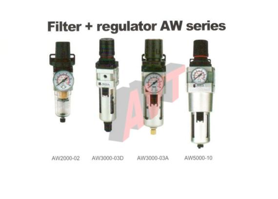 Filter + regulator AW series