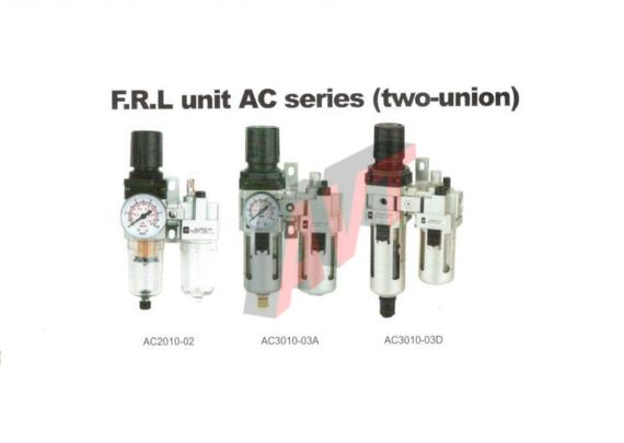 FRL unit AC Series (two-union)-C1