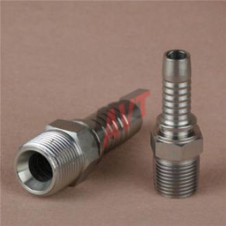 Hydraulic Straight Male Fitting (BSP)