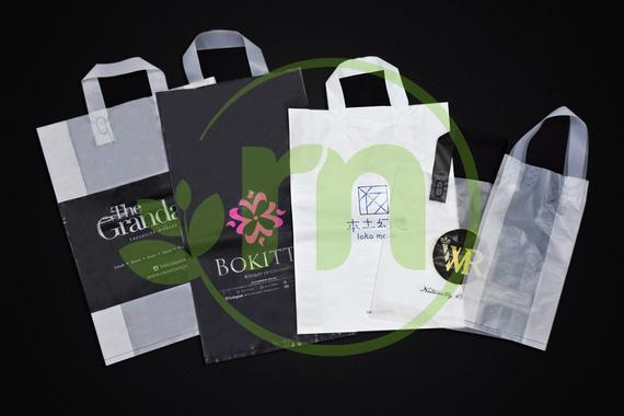 Printed Plastic Bag ( Soft Loop Handle )