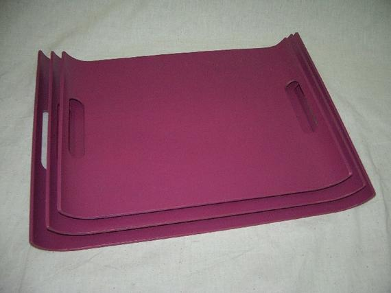 1191 U Shape Handy Tray (PU Red)